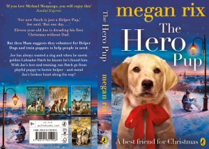THE HERO PUP Cover layout