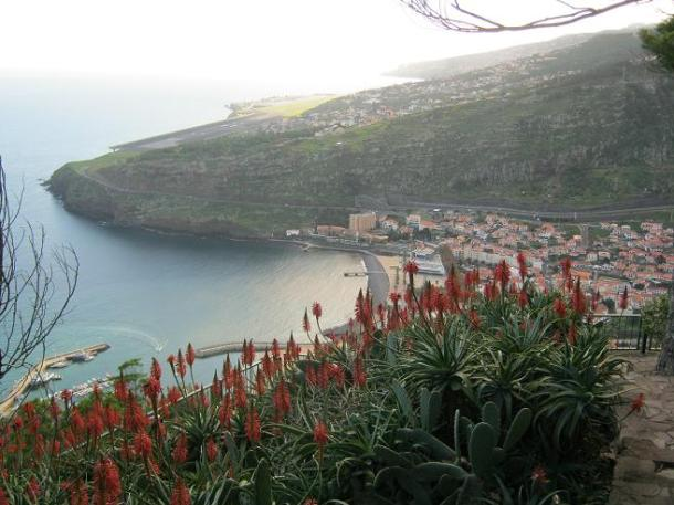 View down to Machico