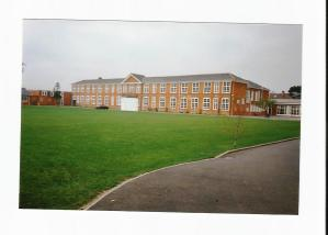 My secondary school was much bigger - it came as a bit of a shock, especially as no-one else from primary went there with me