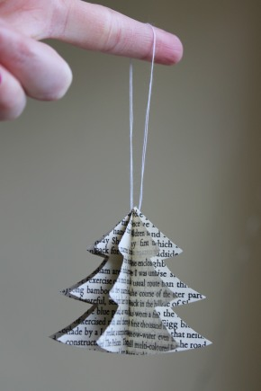 Advent Calendar Day 11 – literary tree decorations!