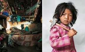 Portraits of Children Around the World and Where They Sleep… X