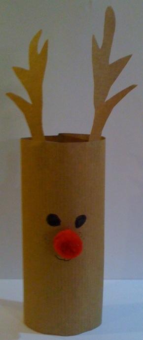 Advent Calendar Day 14 – Rudolf the Reindeer TableDecoration