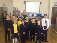 Tommy Donbavand was at Water Primary School in Rawtenstall, Lancashire - can you tell which is Tommy's son?