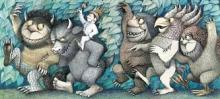 A Spread from Where the Wild Things Are