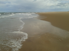 Being on an empty, windswept beach is one of my favourite things!...