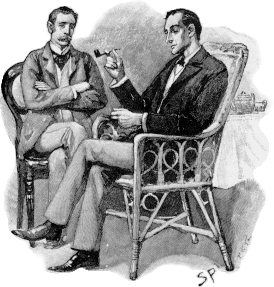Holmes and Watson, by Sidney Paget