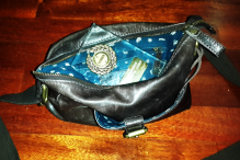 There's an award in my handbag