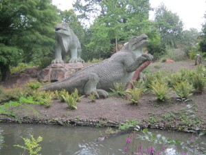 Crystal Palace Iguanodons