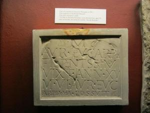 All Hallows by the Tower - roman gravestone2-small
