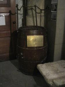 All Hallows by the Tower - Shackleton barrel-small