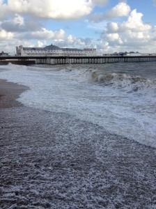 Brighton beach and Brighton Pier