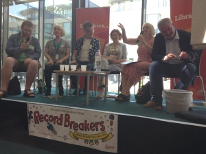Brighton Rocks Books MG author panel with Children's Laureate Chris Riddell