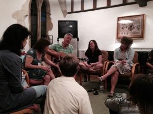 John Dougherty breaks out the guitar for an impromptu singing sesh!
