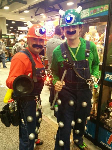 Mario-daleks