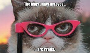 bags under my eyes