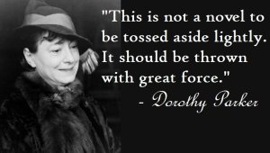 dorothy parker on bad books