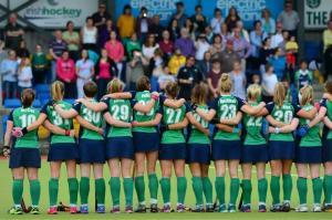 The Irish Hockey Women's Hockey Team (photo c/o hockey.ie)