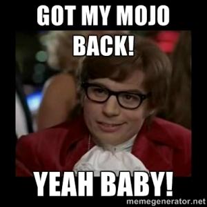 Mojo back