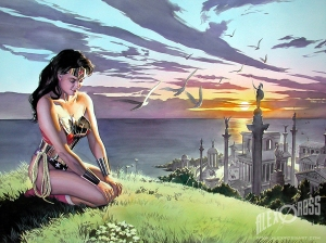 Wonder Woman Spirit of Truth courtesy of Alex Ross