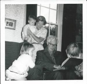 My Grandpa Reading Gulliver's Travels to his Grandchildren!