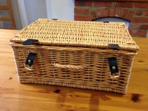 A Beauty Basket and a Basket of Books by Julie Sykes