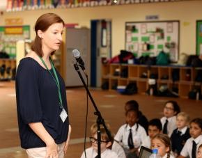 SCHOOL VISITS by RachelHamilton
