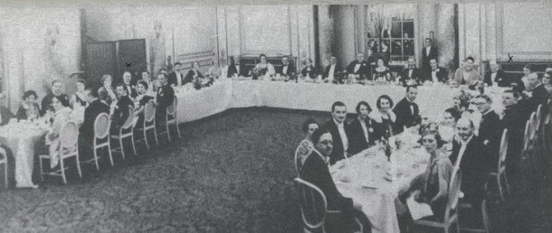 Time Traveling to the Detection Club dinner, 1932