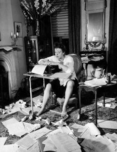 women-at-writing-desk