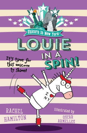 Happy (Almost) Birthday, Louie the Unicorn, by Rachel Hamilton