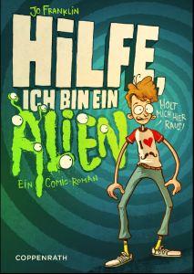 Help I'm an Alien DE by Jo Franklin